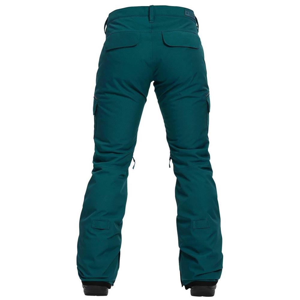 Burton Pantalons Femme Vert T87918 Sur Gloria Détails Insulated uTOXZkPi