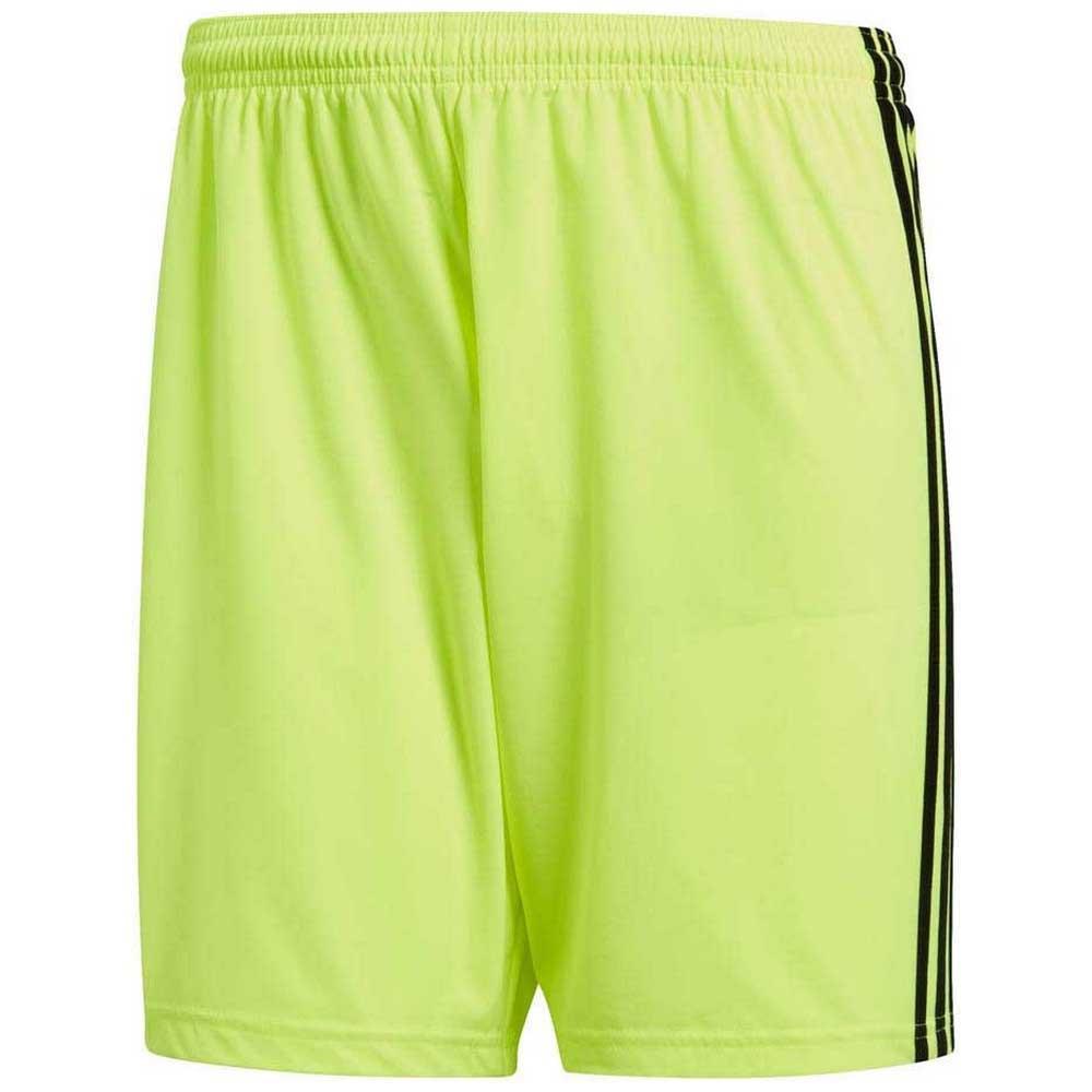 Adidas Short Condivo 18 S Solar Yellow / Black