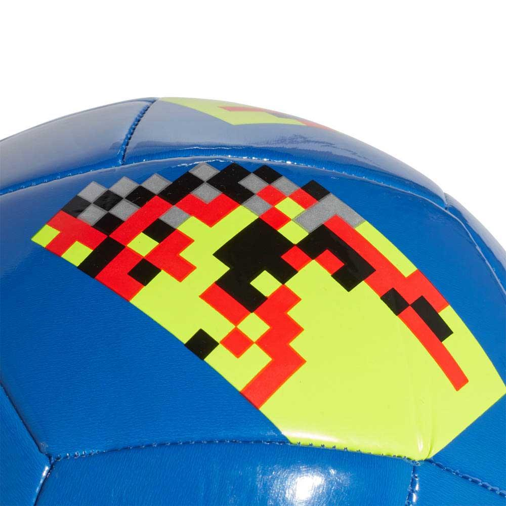 Adidas World Cup Knock Out Out Out Glider Hi Res Blue / Black , Balles adidas , football fce88a