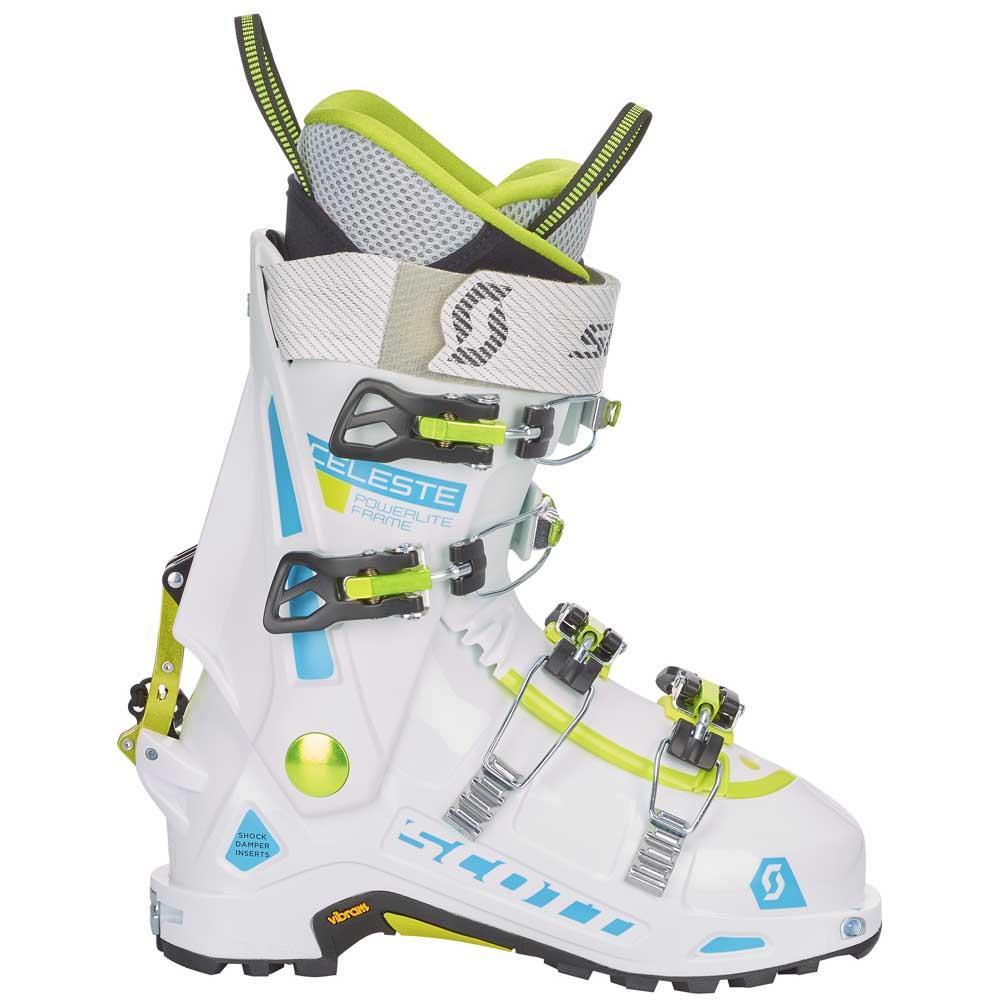 Scott Ws Celeste Blanco / Blanco Scott , Botas de esquí Scott Blanco , esqui , Material esqui d39dc0