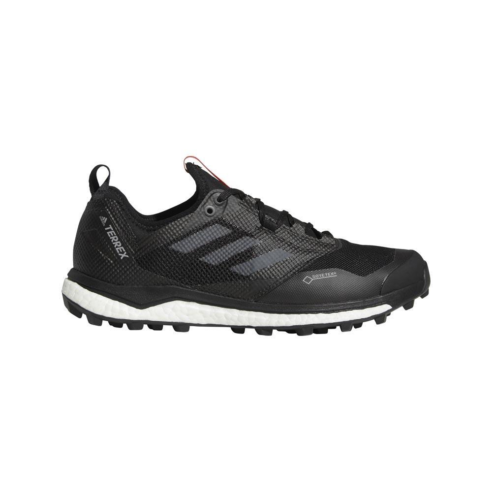 Adidas Terrex Agravic Xt Goretex EU 44 2/3 Core Black / Grey Five / Hi Res Red