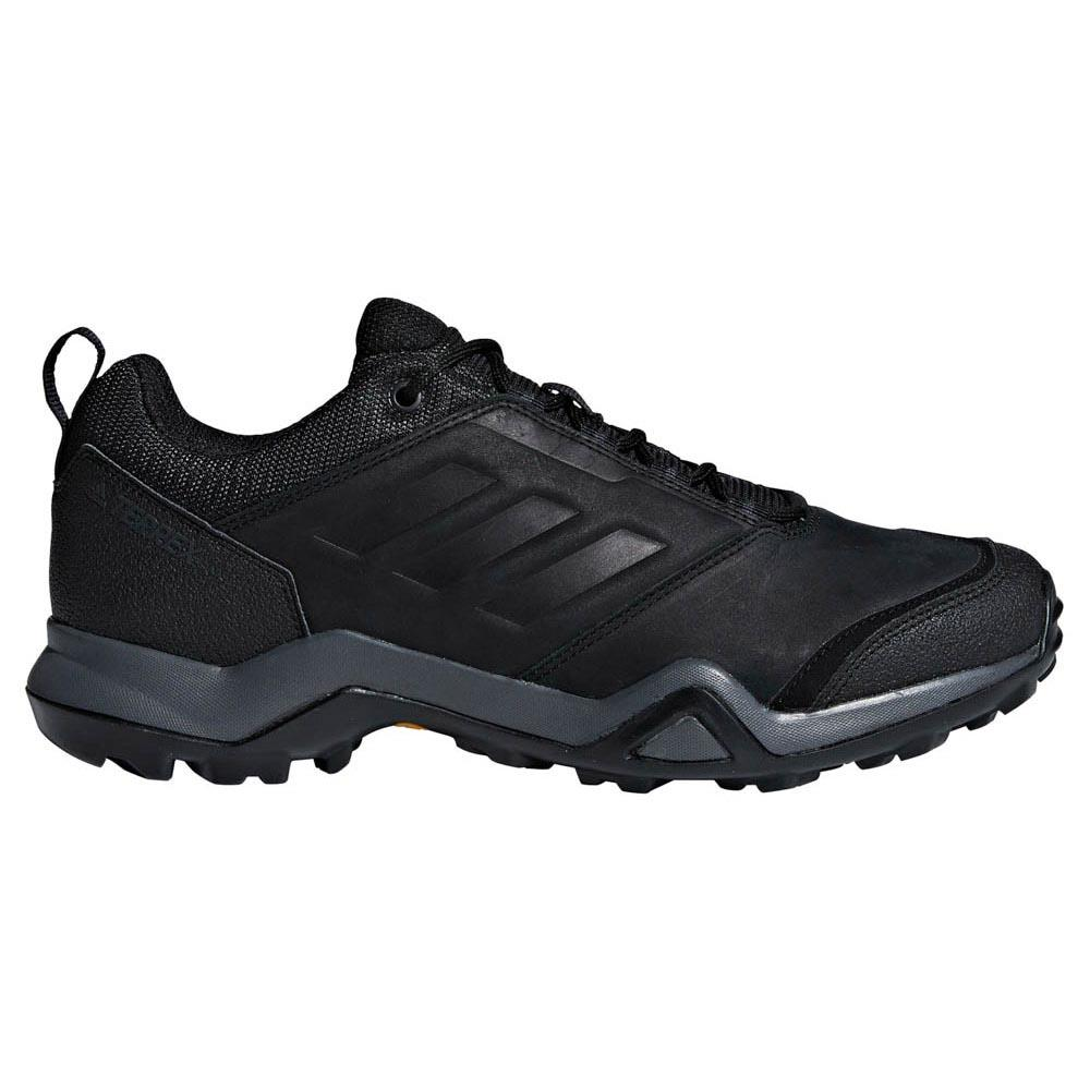 Adidas Terrex Brushwood Leather Core Core Black / Core Core Black / Grey Five , Chaussures 93dddb