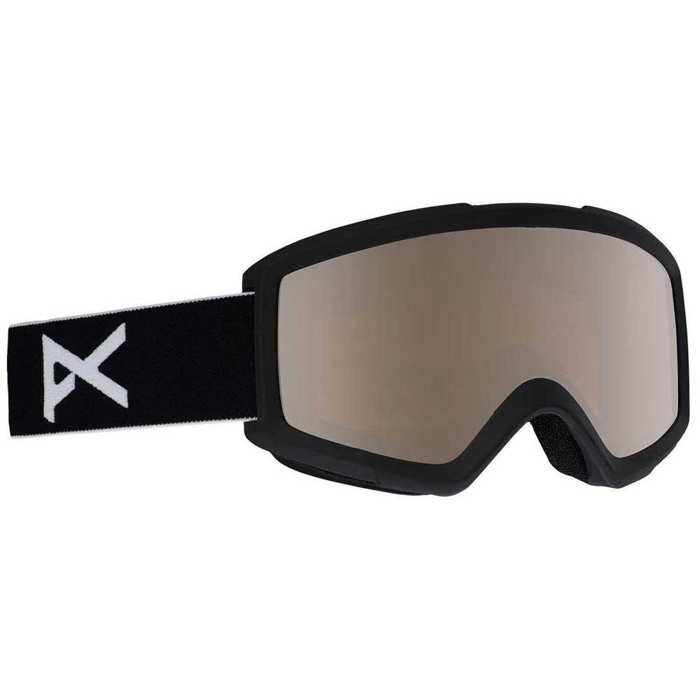 Anon Masque Ski Helix 2.0 Silver Amber/CAT2+Amber/CAT1 Black / Silver Amber