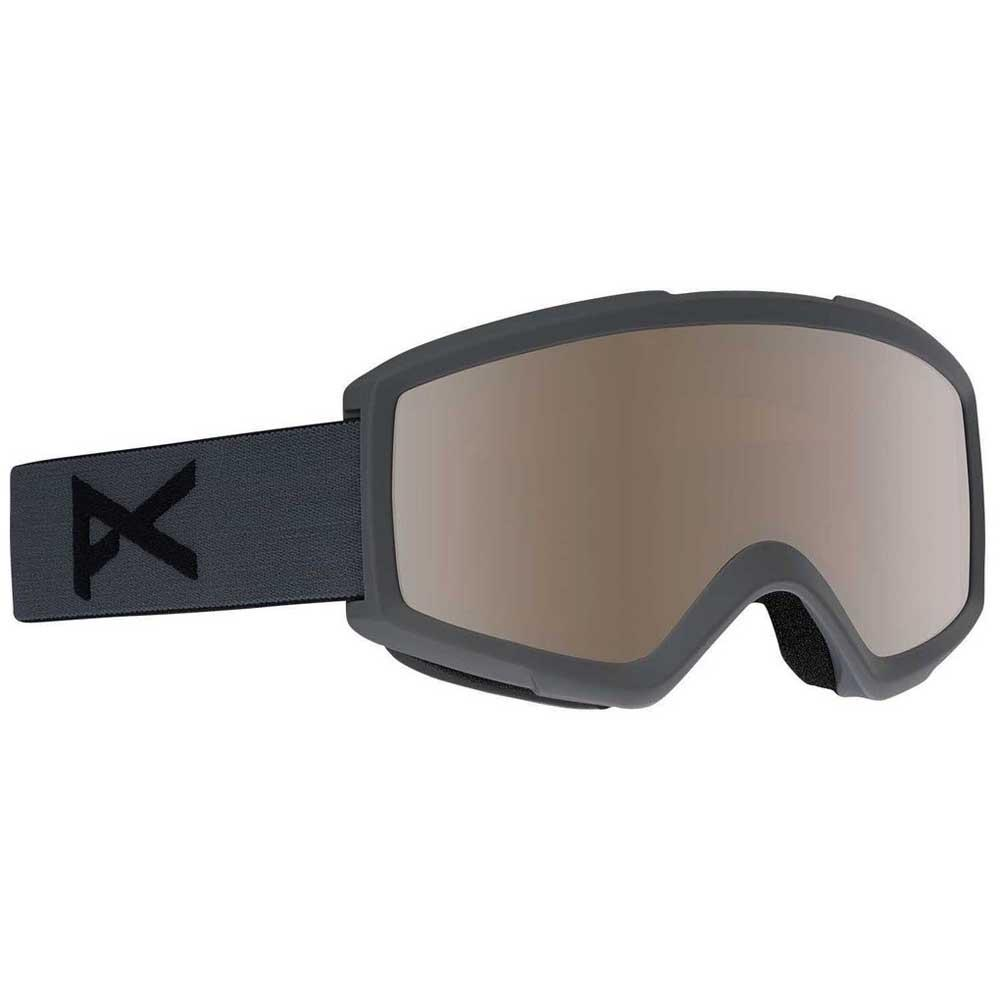 Anon Masque Ski Helix 2.0 Silver Amber/CAT2+Amber/CAT1 Stealth / Silver Amber