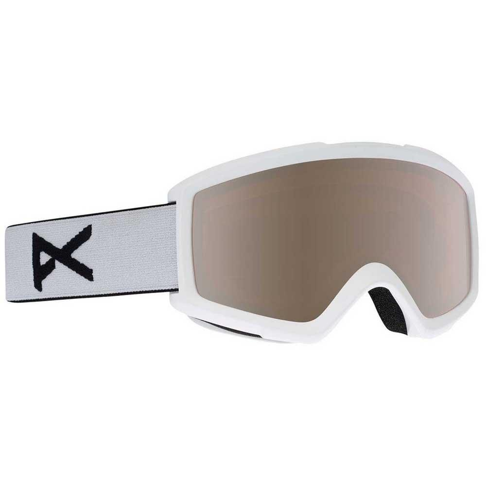 Anon Masque Ski Helix 2.0 Silver Amber/CAT2+Amber/CAT1 White / Silver Amber