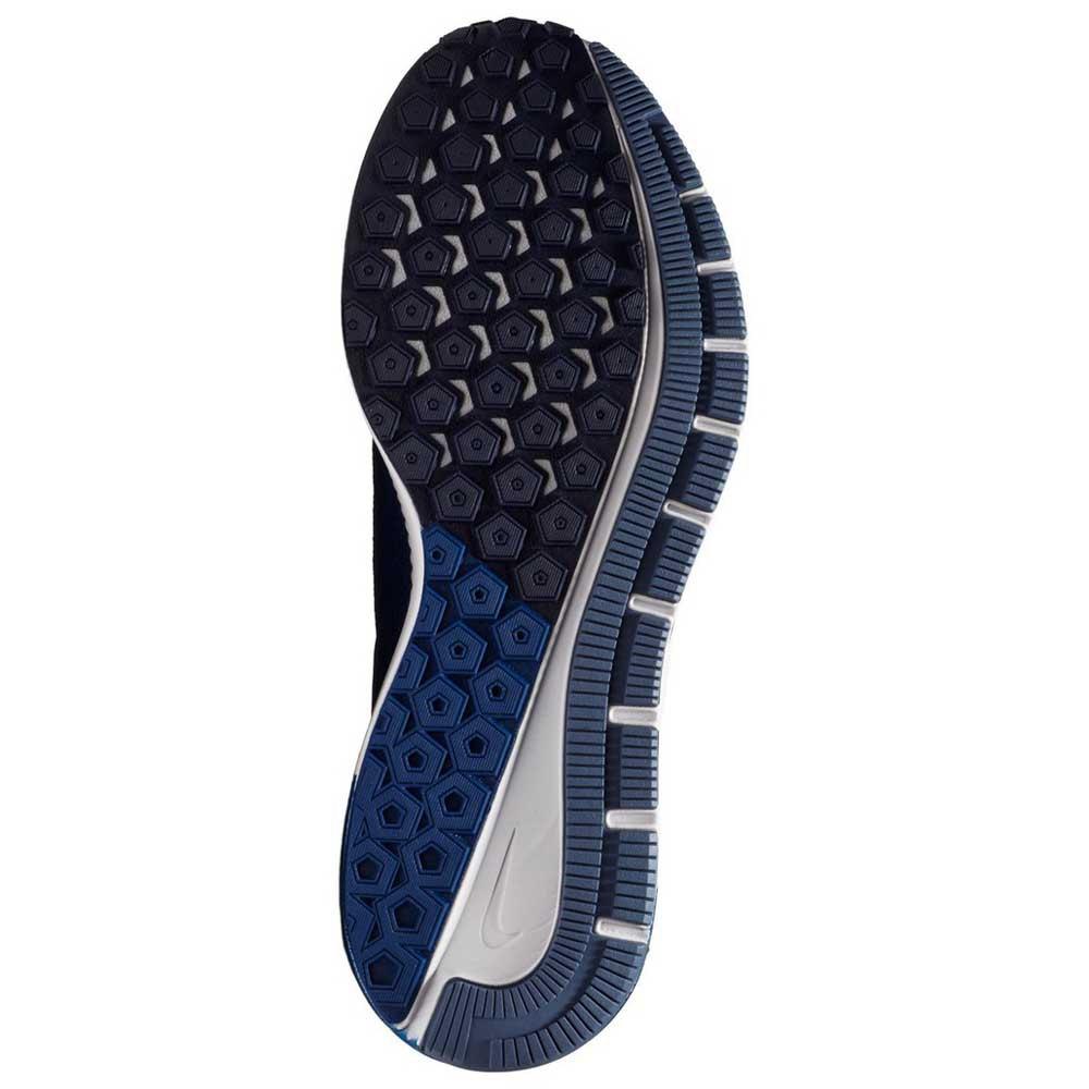 Detalles de Nike Air Zoom Structure 22 Narrow Azul T12339 Zapatillas Running Azul Nike