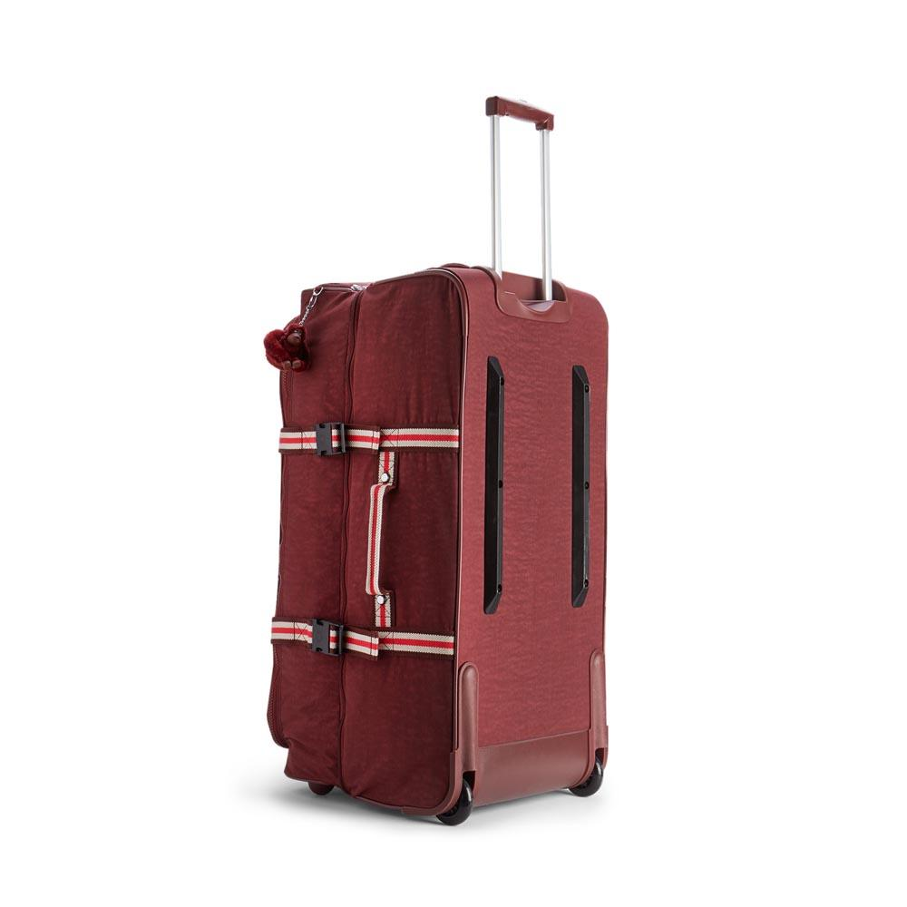 Kipling Teagan L 91l Burnt Carmine M , Trolleys Kipling Kipling Trolleys , moda 26f6c6