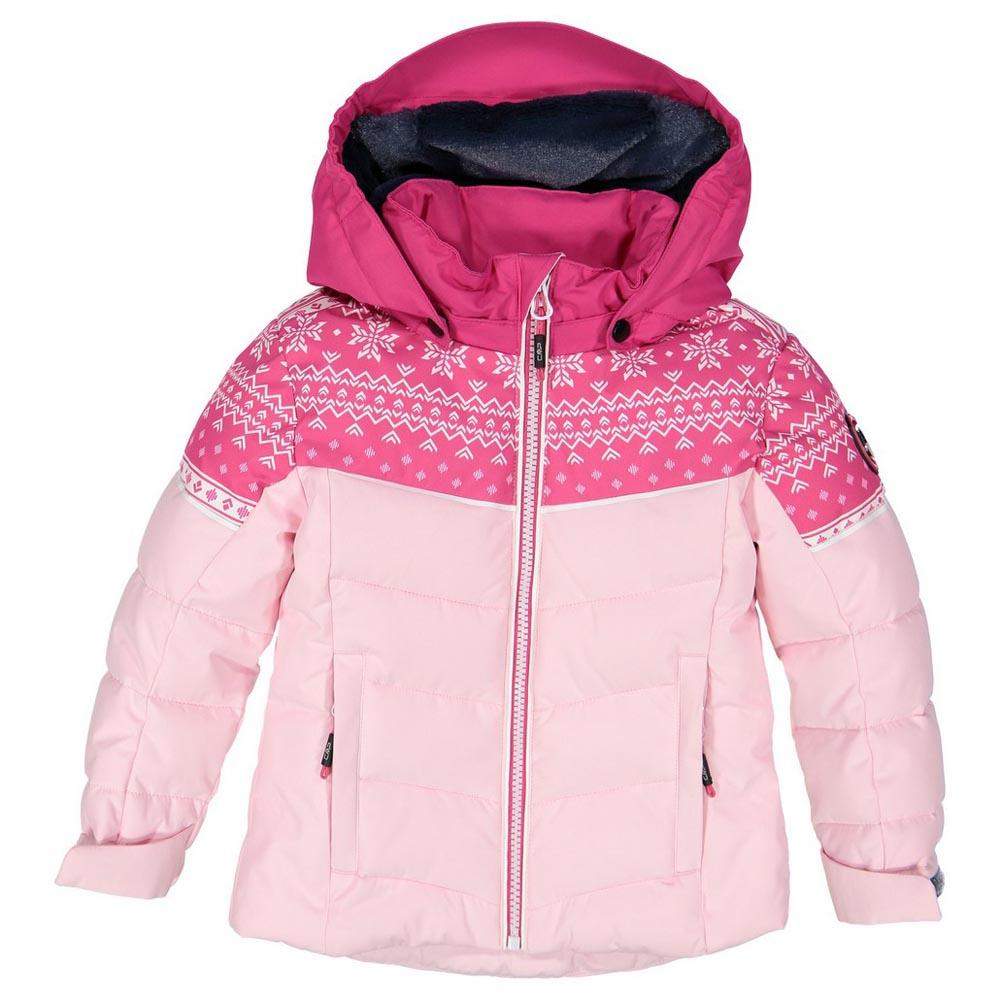 cmp-child-jacket-snaps-hood-12-months-rose