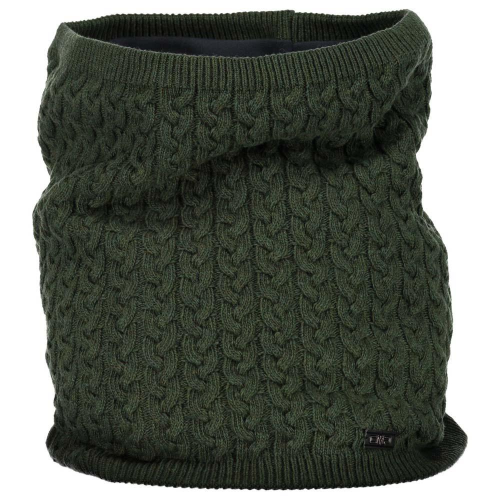 Cmp Knitted Neckwarmer One Size Kaky Melange