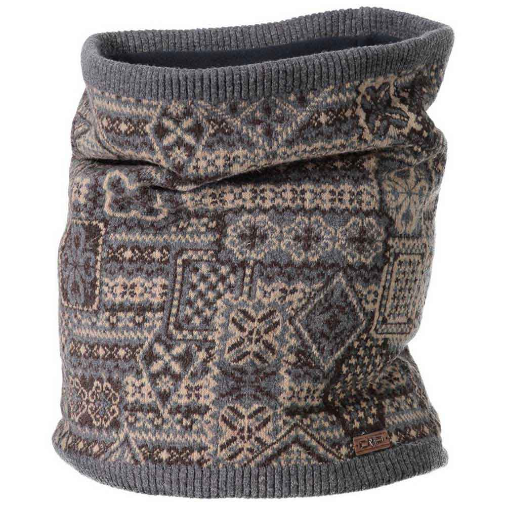 Cmp Knitted Neckwarmer One Size Seppia