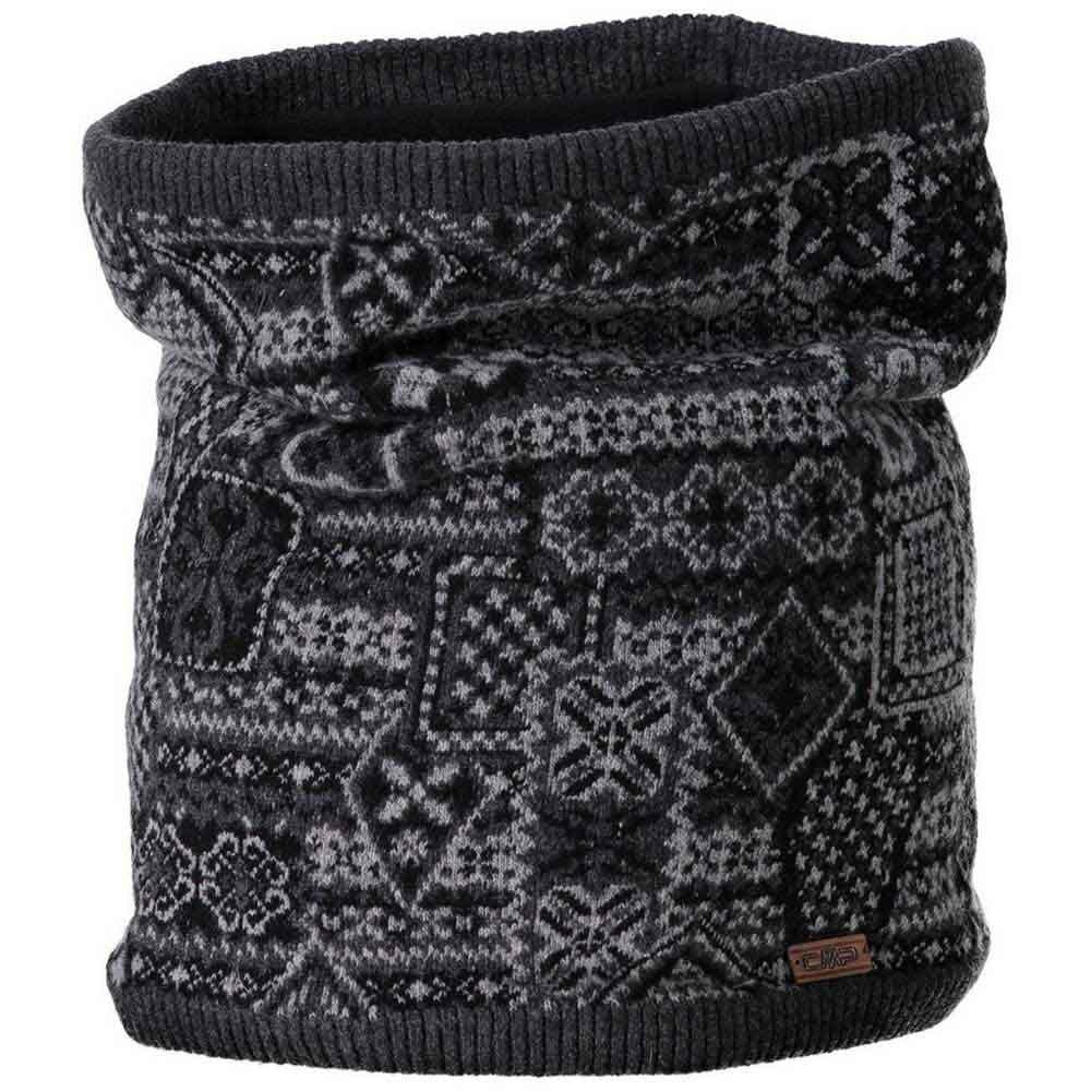 Cmp Knitted Neckwarmer One Size Nero