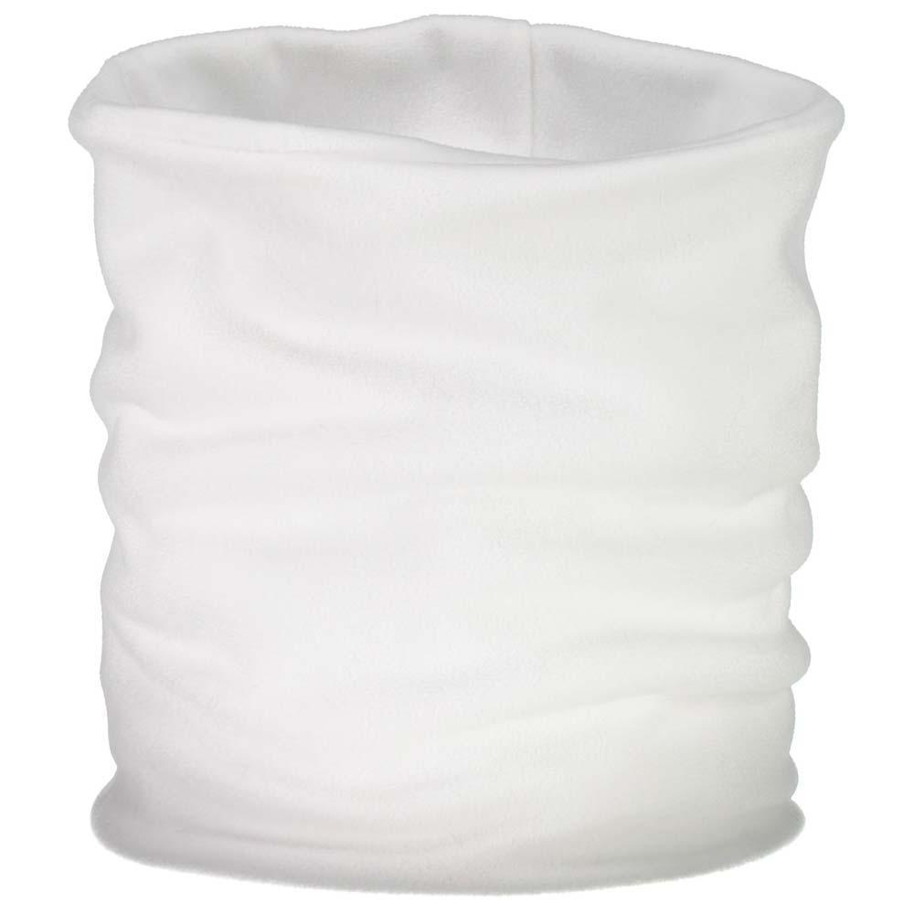 Cmp Fleece Neckwarmer One Size Bianco