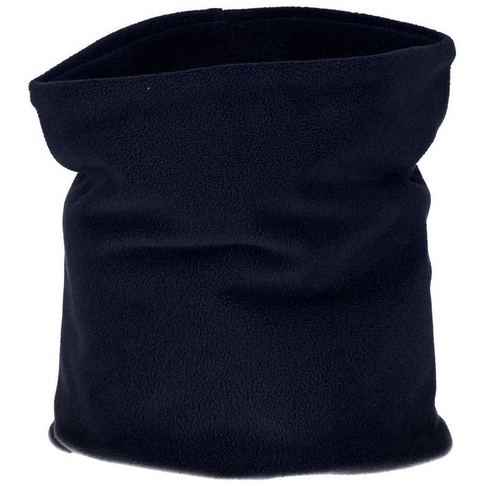 Cmp Kids Fleece Neckwarmer One Size Black Blue