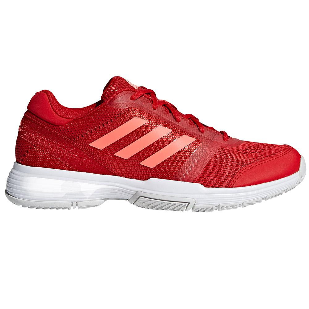 Adidas Barricade Club EU 37 1/3 Scarlet / Flash Red / Ftwr White