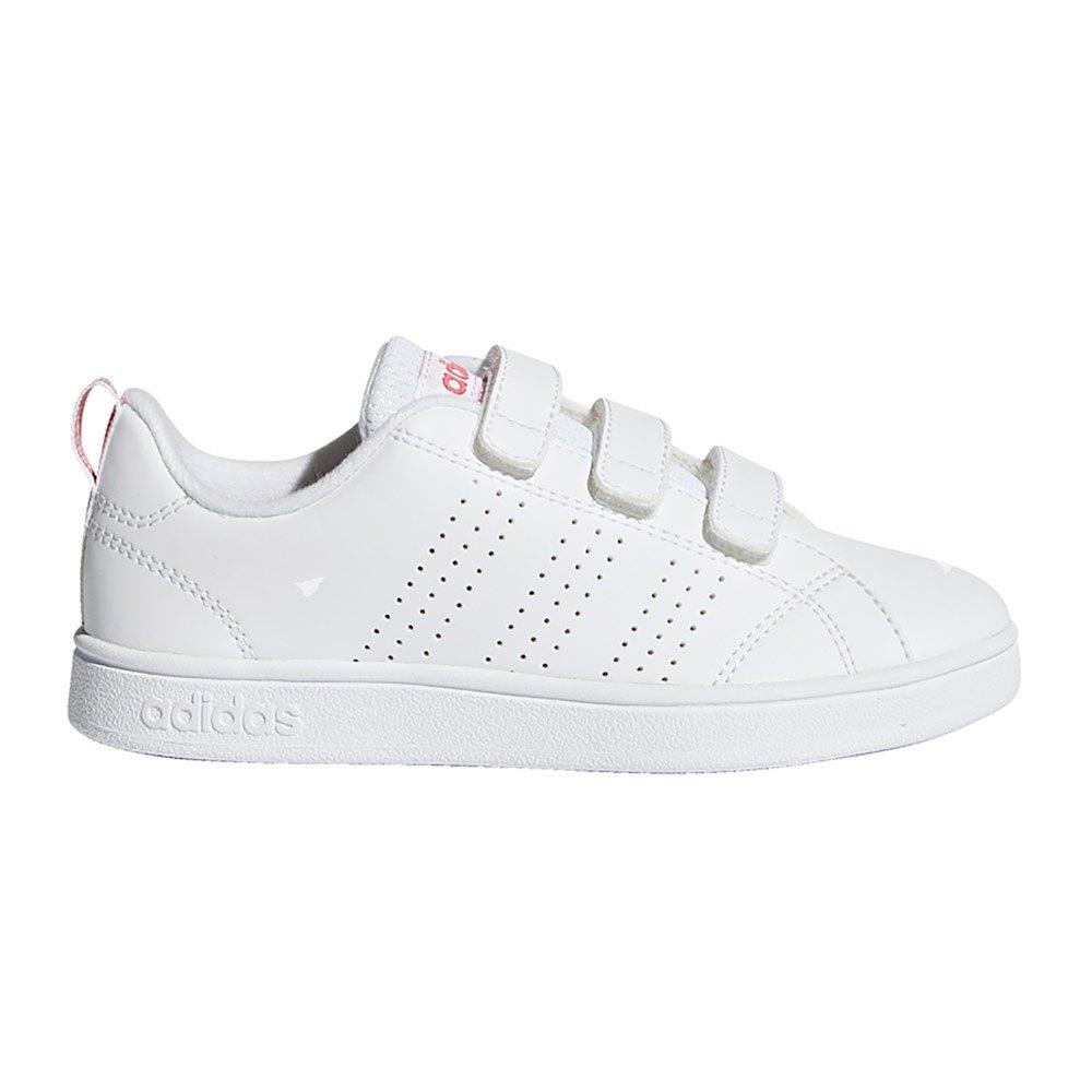 4f9da2c02ba00 Adidas Vs Advantage Cl Cmf C Ftwr White   Ftwr White   Super Pink ...