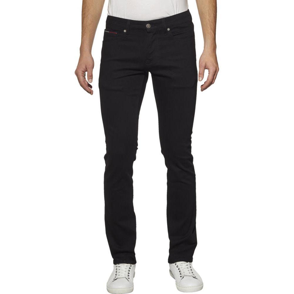 Tommy Hilfiger Stretch Slim Fit Scanton 34 Black Comfort