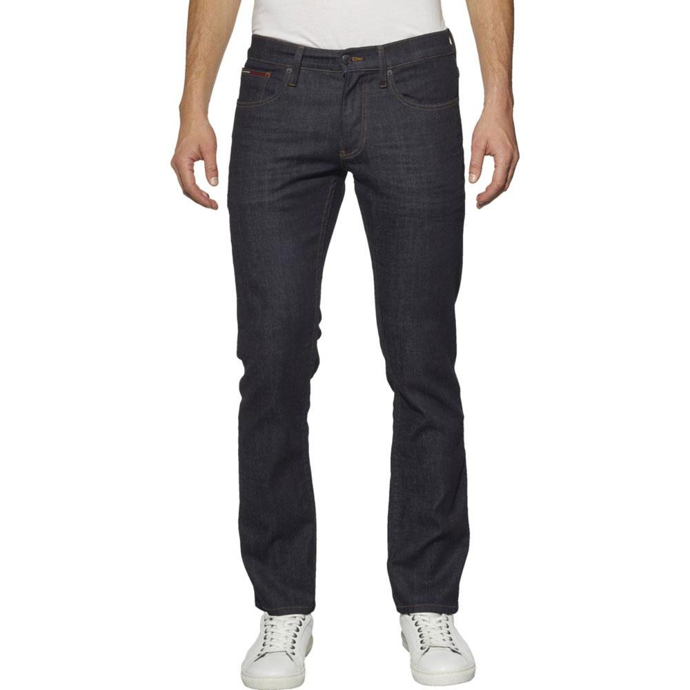 b15056985841 Tommy Hilfiger Ryan Straight Fit Jeans in Rinse Comfort Dark Wash Blue Denim  W34 L32. About this product. Picture 1 of 2  Picture 2 of 2