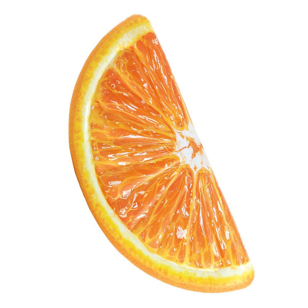 matelas-de-plage-orange