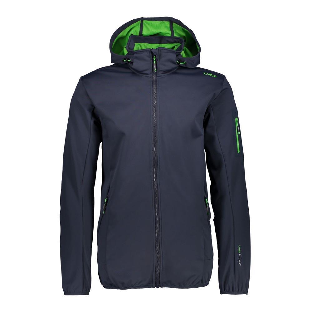 Cmp Zip Hood Jacket XXXXL Black Blue