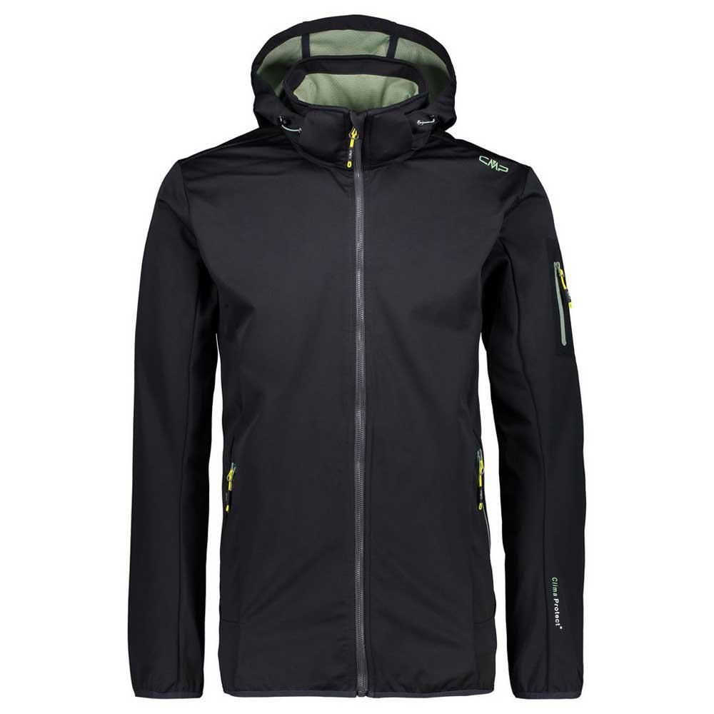 Cmp Zip Hood Jacket XXXXL Antracite