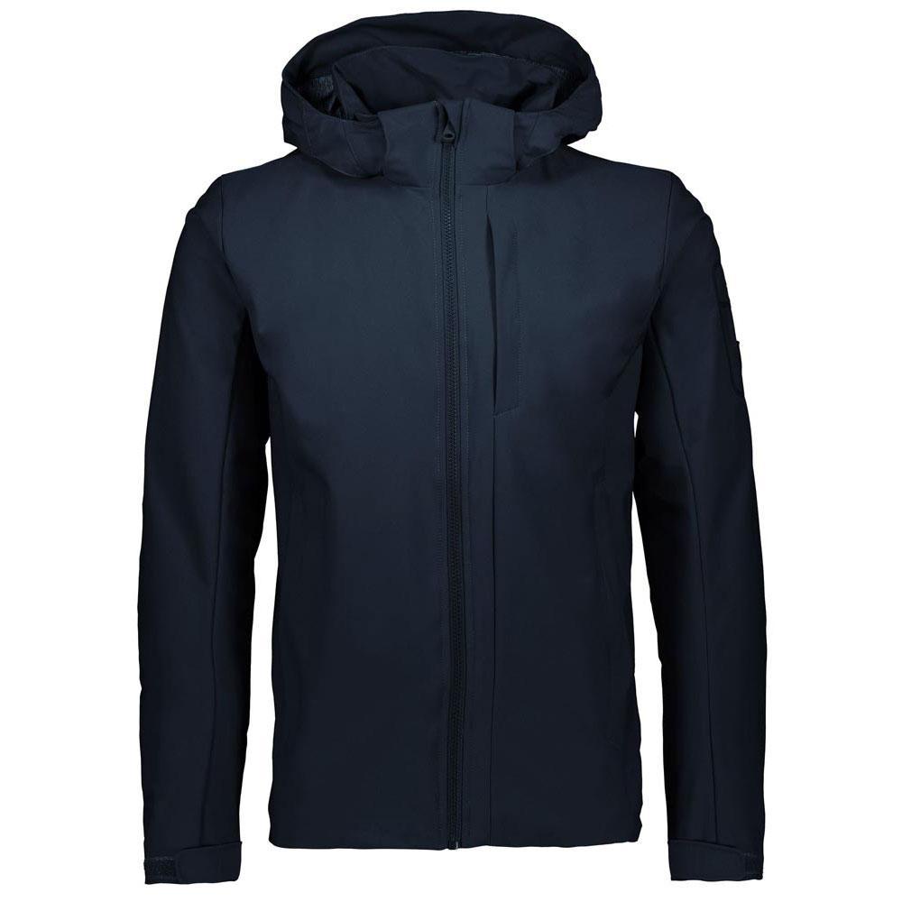 Cmp Zip Hood Jacket XL Black Blue