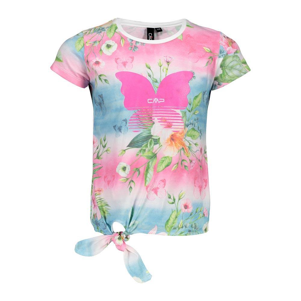 Cmp Girl T-shirt 4 Years Hot Pink / Ocean