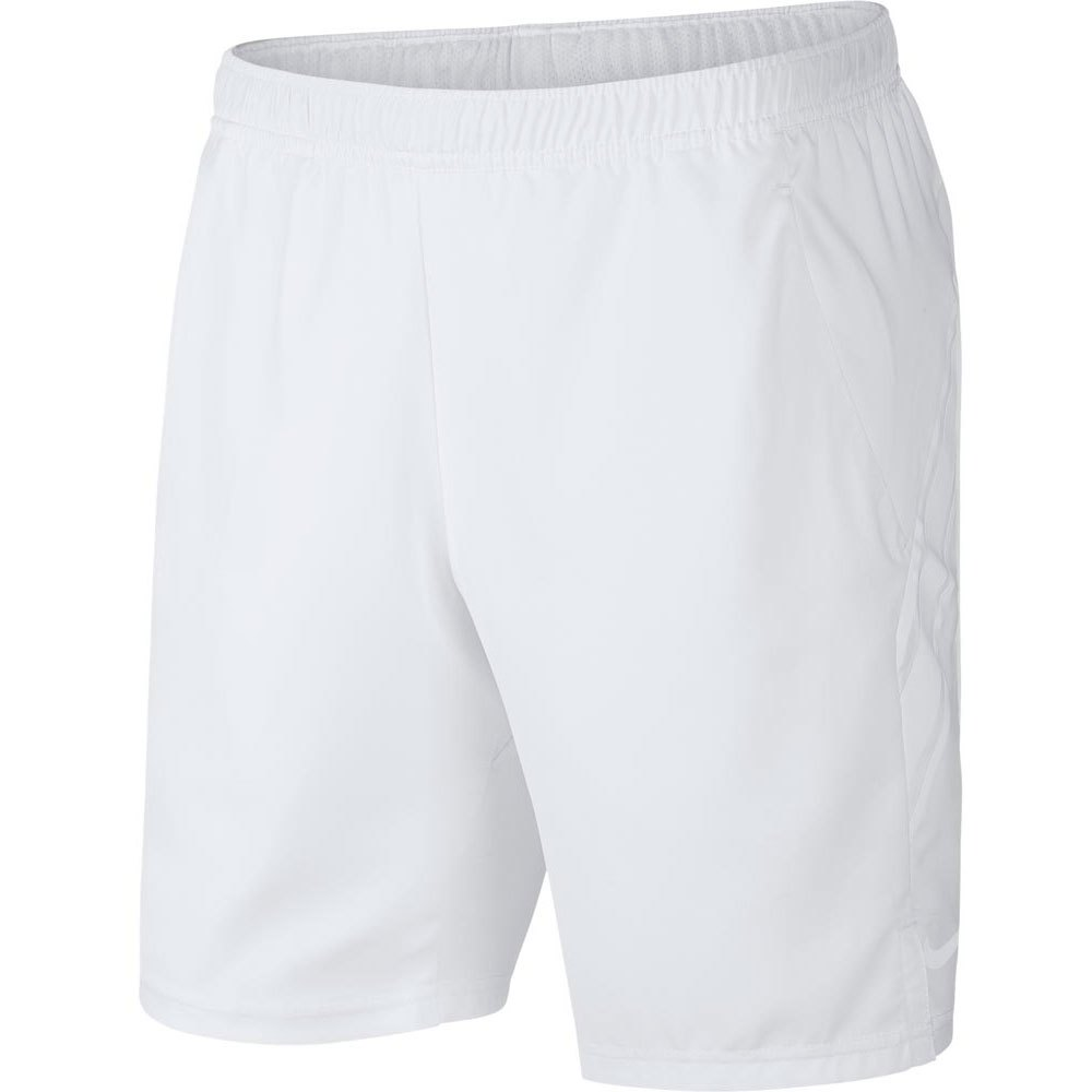 Nike Court Dri Fit 9´´ XS White / White / White