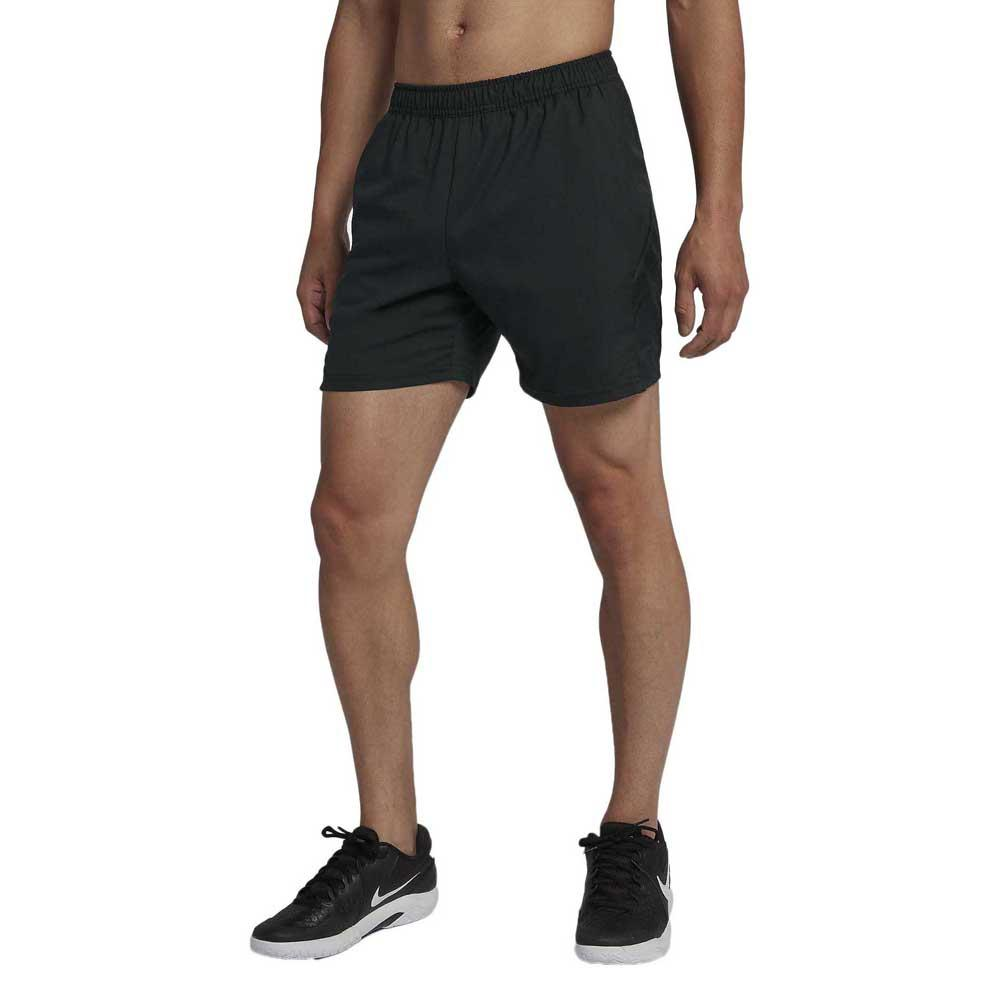 Nike Court Dri Fit 7´´ S Black / Black / Black