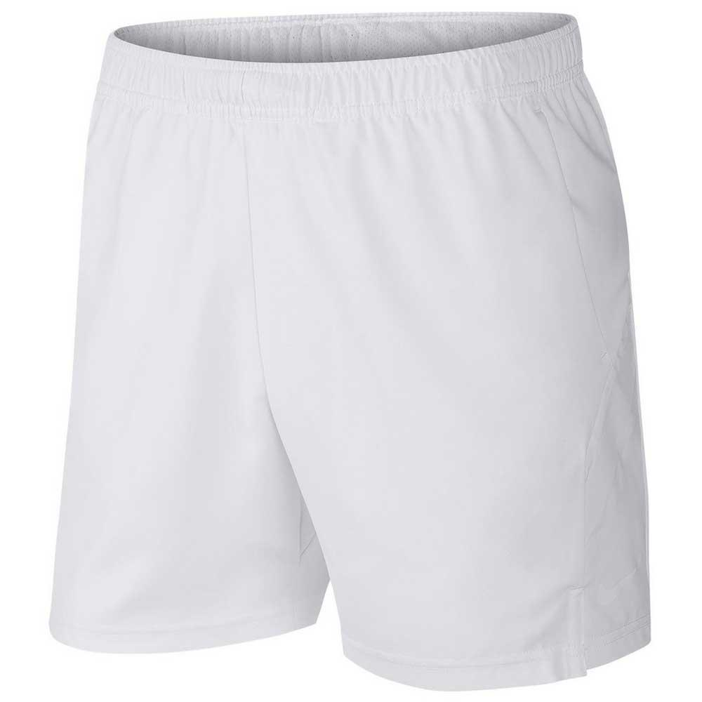 Nike Court Dri Fit 7´´ XL White / White / White