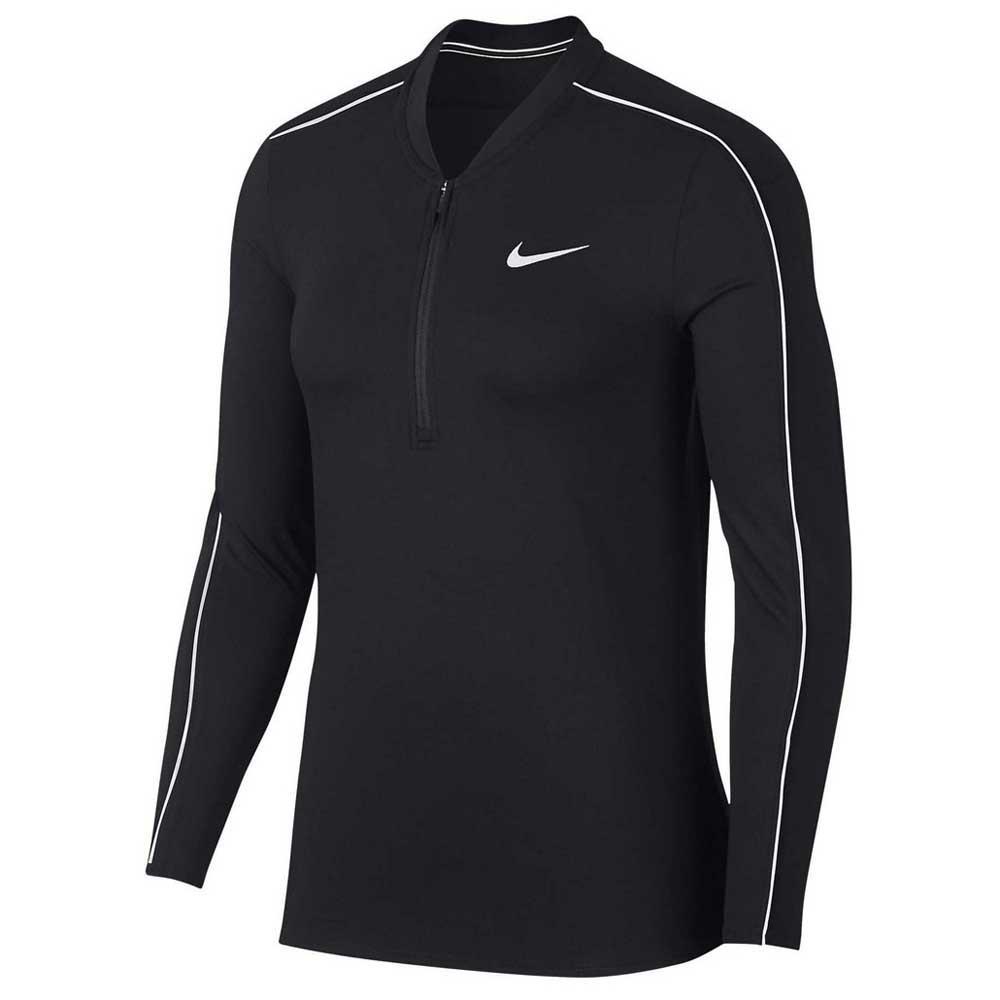 Nike Court Dri Fit L Black / White / White / White
