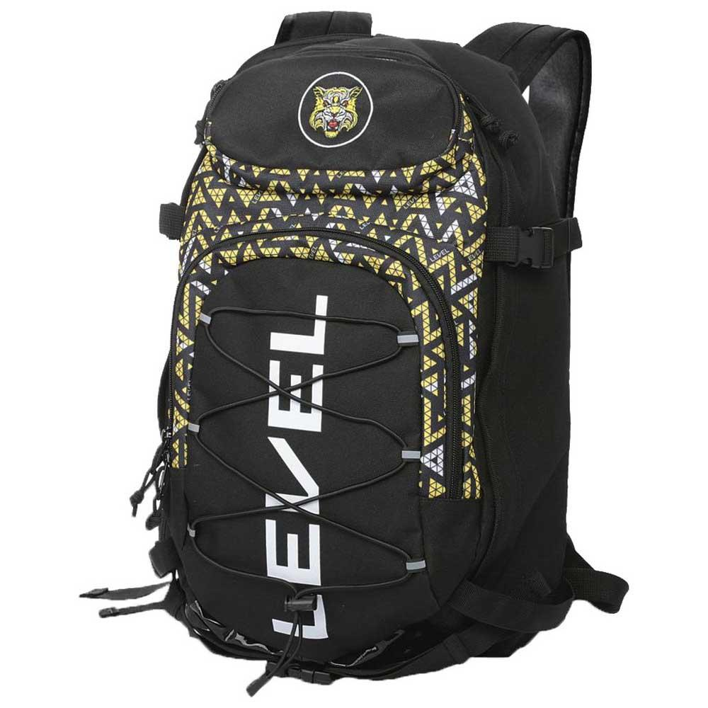 Level Sac à Dos Freeride Tiger 20l One Size Black / Yellow