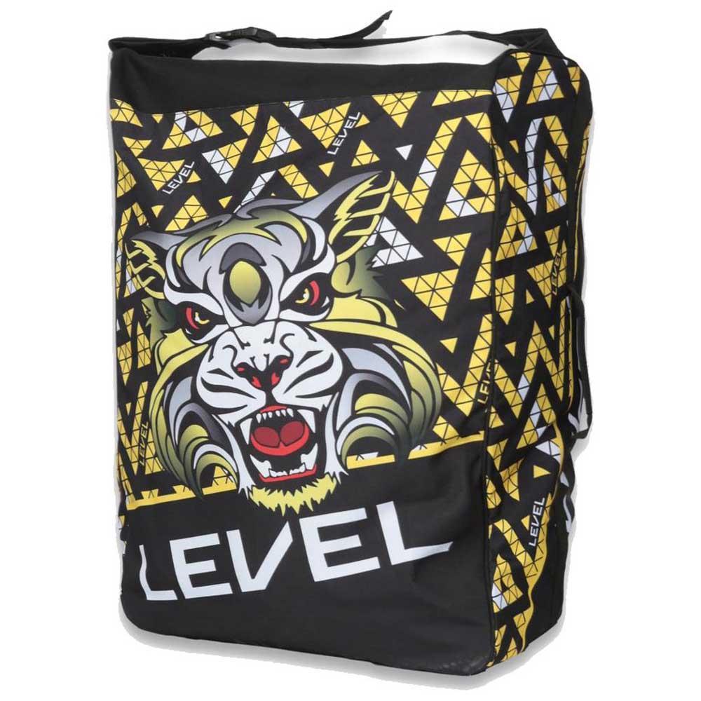 level-level-team-bag-95l-one-size-black-yellow