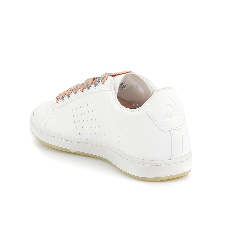Le Coq Sportif Courtset Optical Bold Optical Courtset Weiß / Dusty Coral , Sneakers , mode a42921