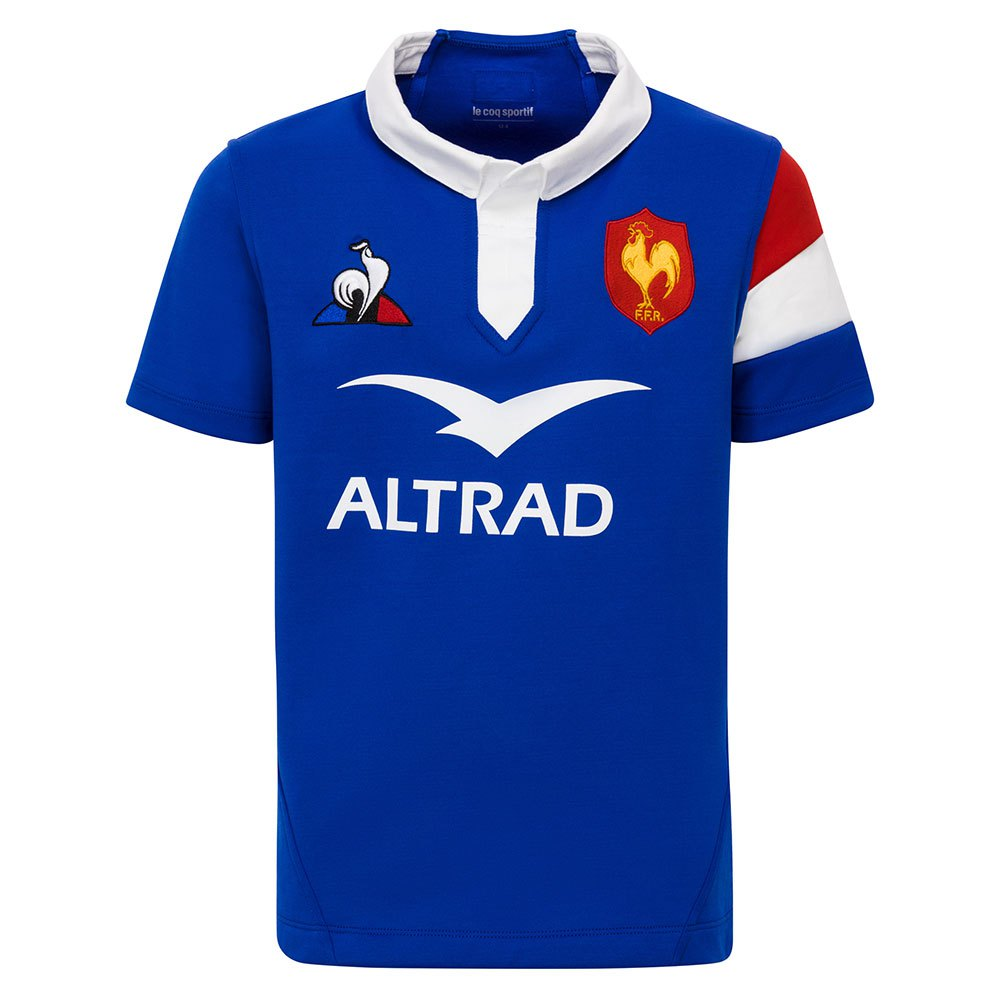 Le Coq Sportif France Xv Home 2019 Junior 10 Years Cobalt