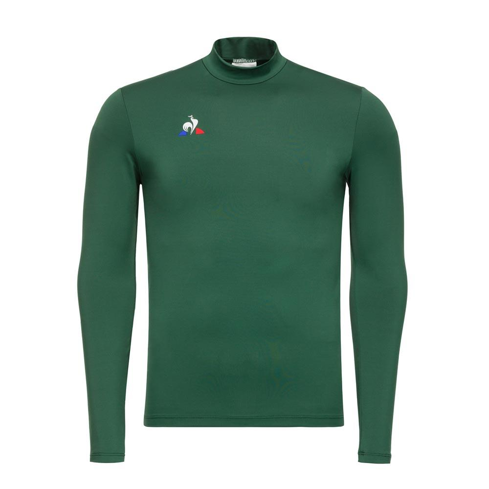 Le Coq Sportif Training Foot Smartlayer Collar L/s Pineneedle , Pullover
