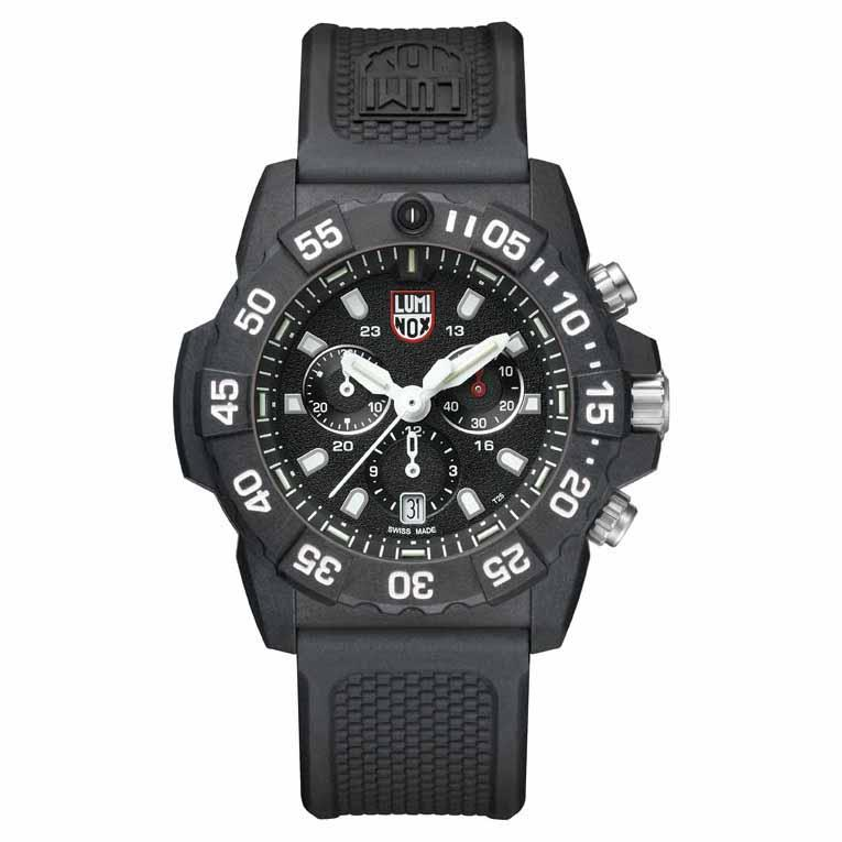 Luminox Navy Seal Chronograph 3581 45 mm Black / White