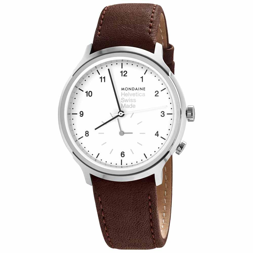 mondaine-helvetica-no1-regular-2nd-time-zone-40-mm-white-brown-leather