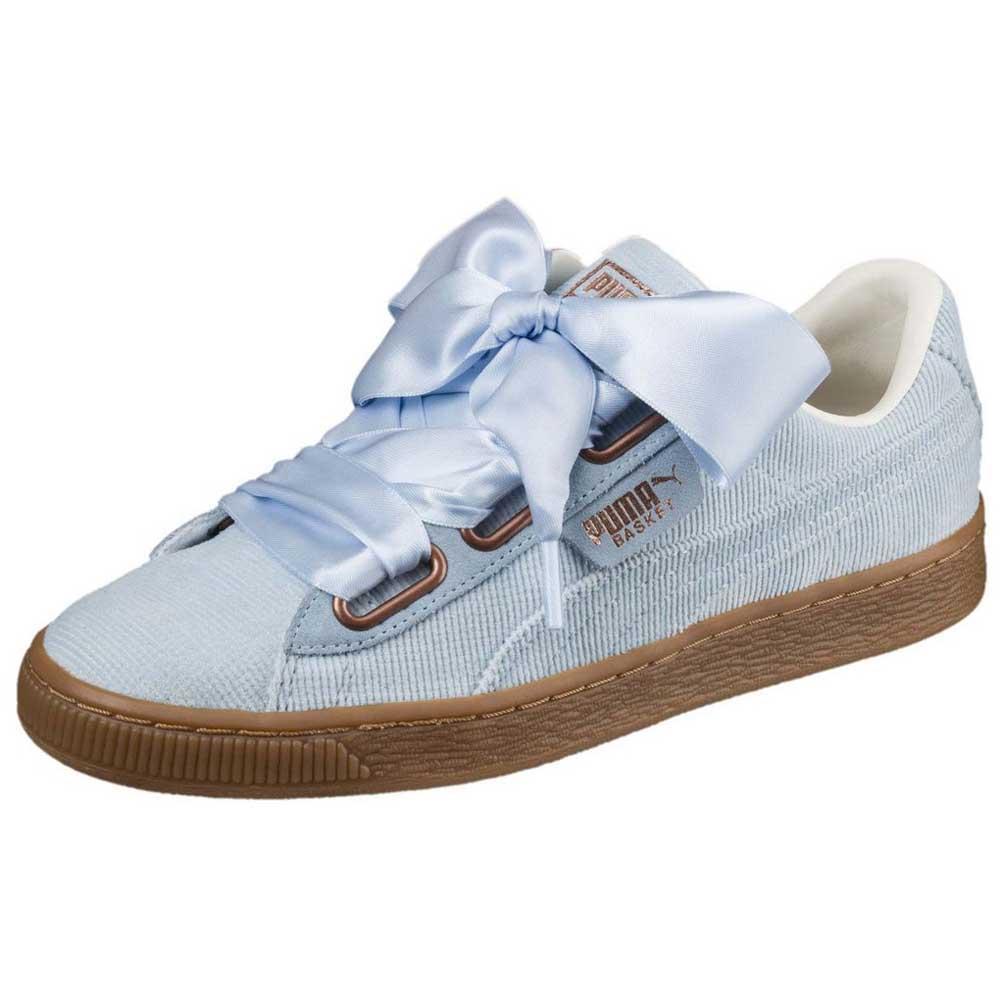Puma select Select Basket Heart Corduroy Blanco , Zapatillas Puma select Puma , moda ed9986
