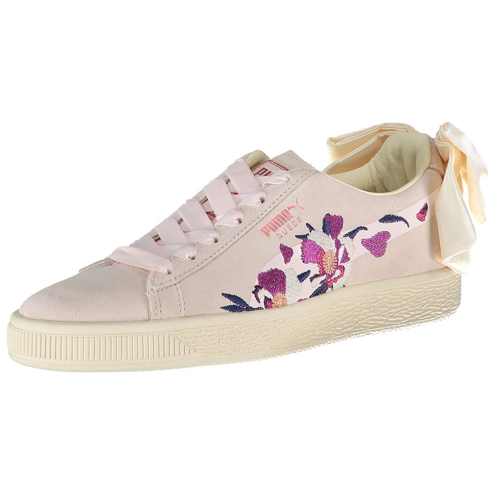 Puma Select Suede Bow Flowery Mauve Morn   rosado rosado rosado oro , Zapatillas Puma select  ahorra hasta un 50%
