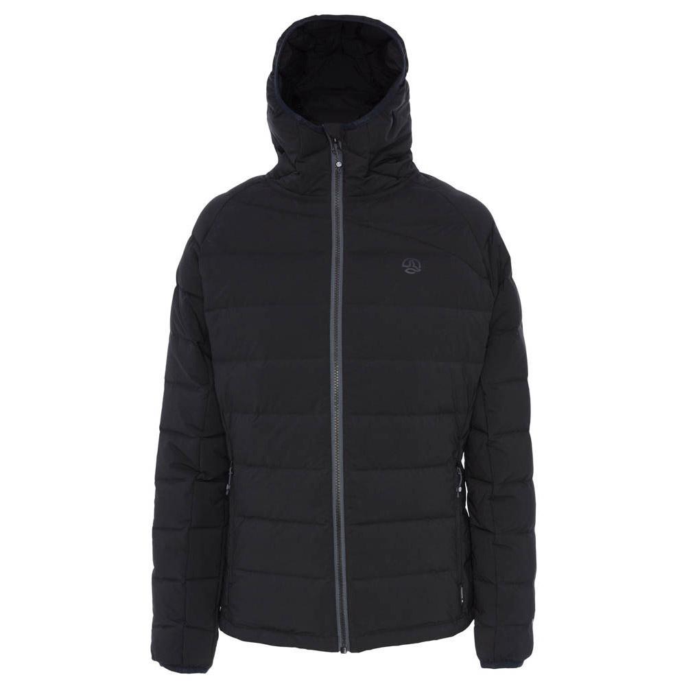 Ternua Nuptse Down Hooded XS Black