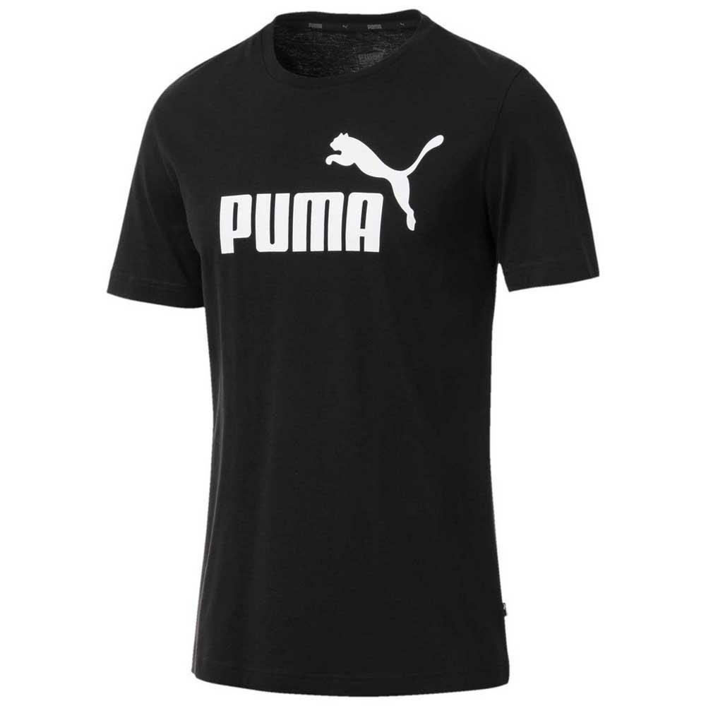 Puma Ess Logo S Black