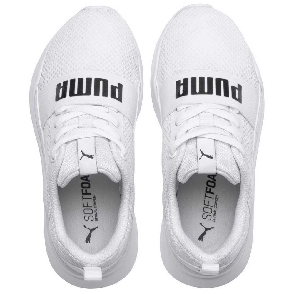 598ada76d1a7b Enfant White Mode Ps Wired Chaussures Puma Baskets O4AwSf7q