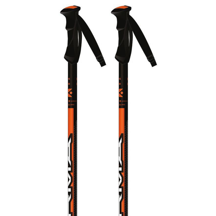 Kerma Speed 130 cm Black / Orange