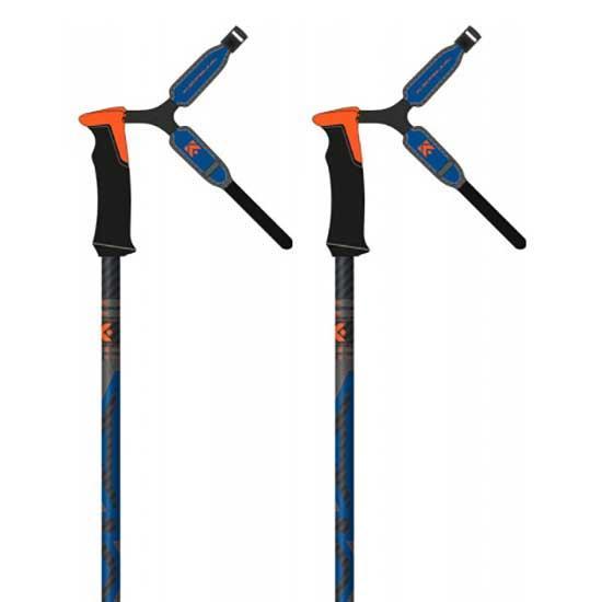 Kerma Speedzone Carbon 40 Safety 110 cm Black / Orange / Blue