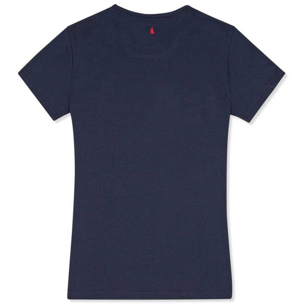 Musto-Musto-Favourite-Bleu-T66103-T-Shirts-Femme-Bleu-T-Shirts-Musto-sports miniature 4