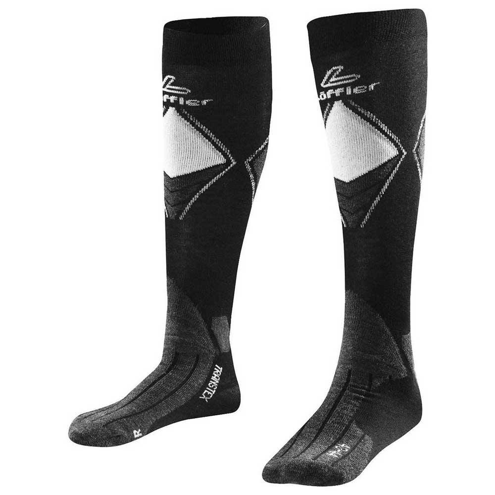 loeffler-transtex-merino-socks-long-eu-45-47-black