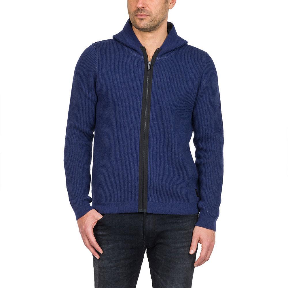 Homme Chandails Uk4061 Replay Vêtements Mode Blue xzXw4C