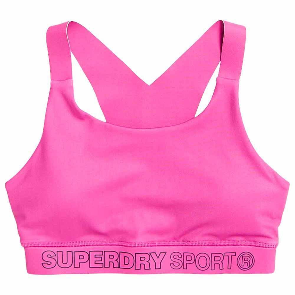 Superdry Active Bra S Super Pink