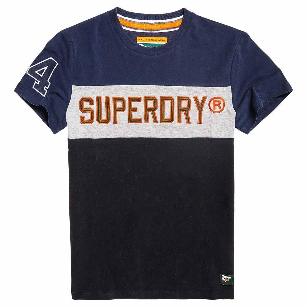 Superdry Applique Colour Block L Highland Navy