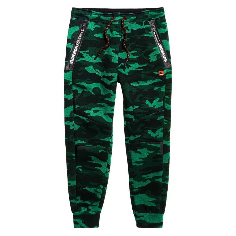 Superdry Gym Tech Stretch Jogger M Forest Camo